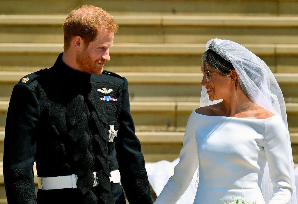 Książę Harry i Meghan Markle wycofali się z dworu. Zabraknie ich też w 'The Crown'