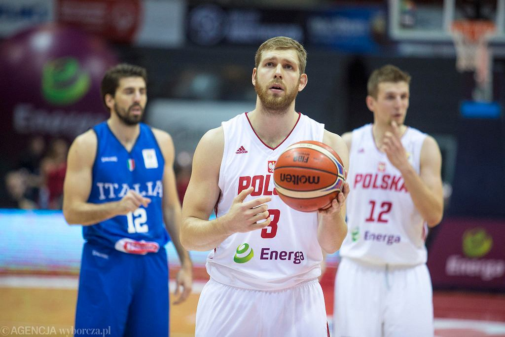 Michał Sokołowski w barwach reprezentacji Polski