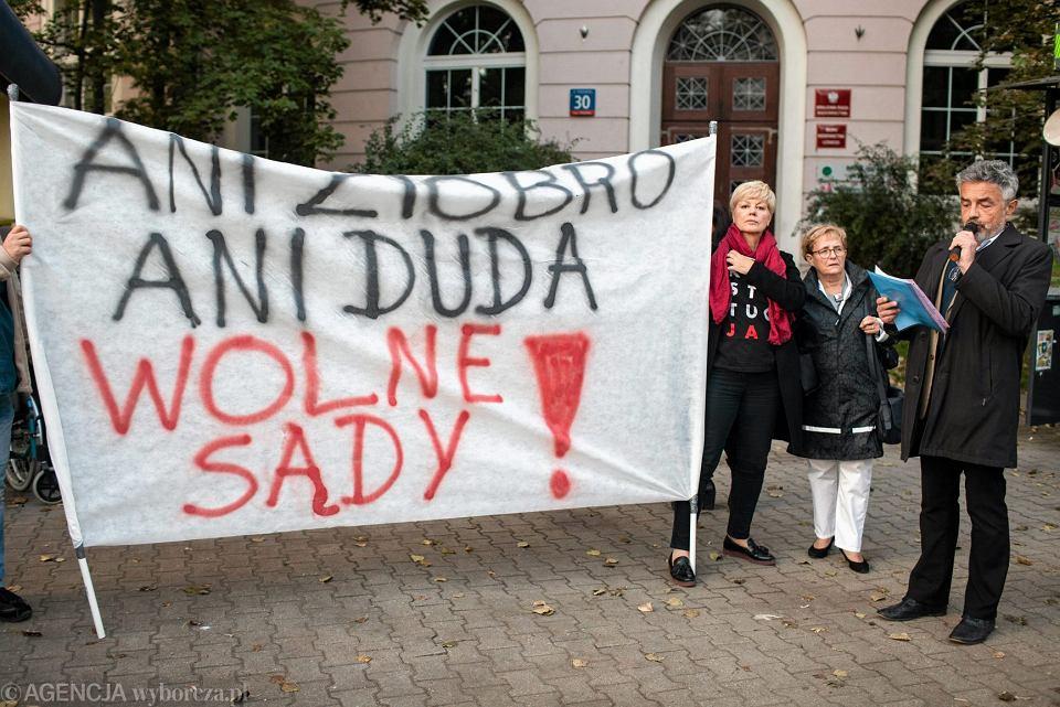 Patrol Obywatelski pod Krajową Radą Sądownictwa, 29 września 2017.