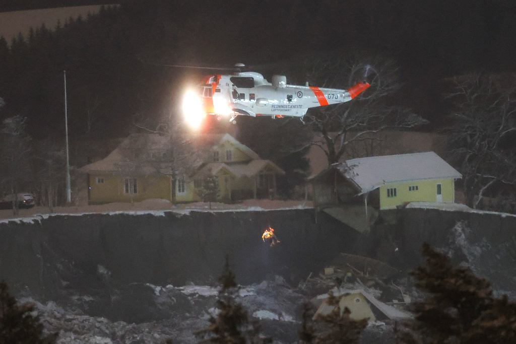 Osuwisko w Norwegii