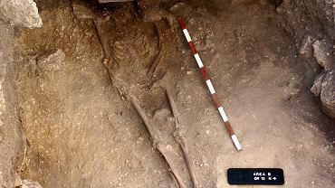 Szczątki anatolijskiego łowcy-zbieracza sprzed 15 tys. lat, którego DNA badali naukowcy.