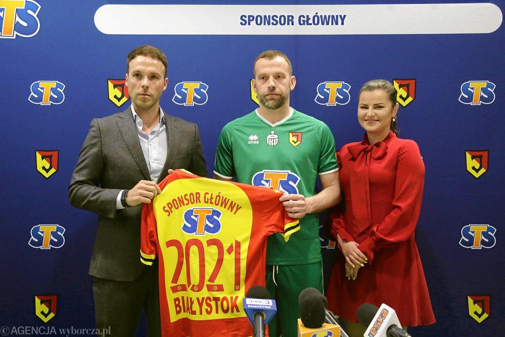 STS pozostaje sponsorem głównym Jagiellonii Białystok