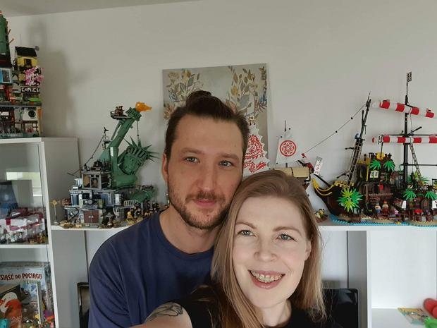 Pola z mężem (fot. Archiwum prywatne)