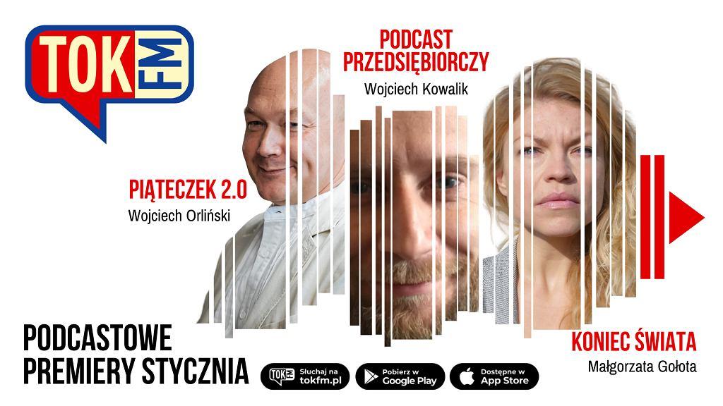 Premiery podcastowe stycznia