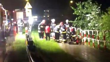 Akcja strażaków w Kwieciszewie