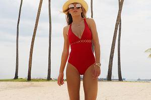 55d9f12b44175 Ewa Chodakowska wypuściła nową kolekcję kostiumów kąpielowych.