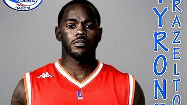 Tyrone Brazelton nowym koszykarzem Rosy Radom
