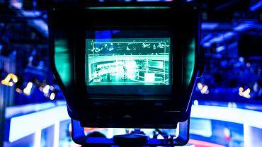 Studio telewizyjne. Zdjęcie ilustracyjne