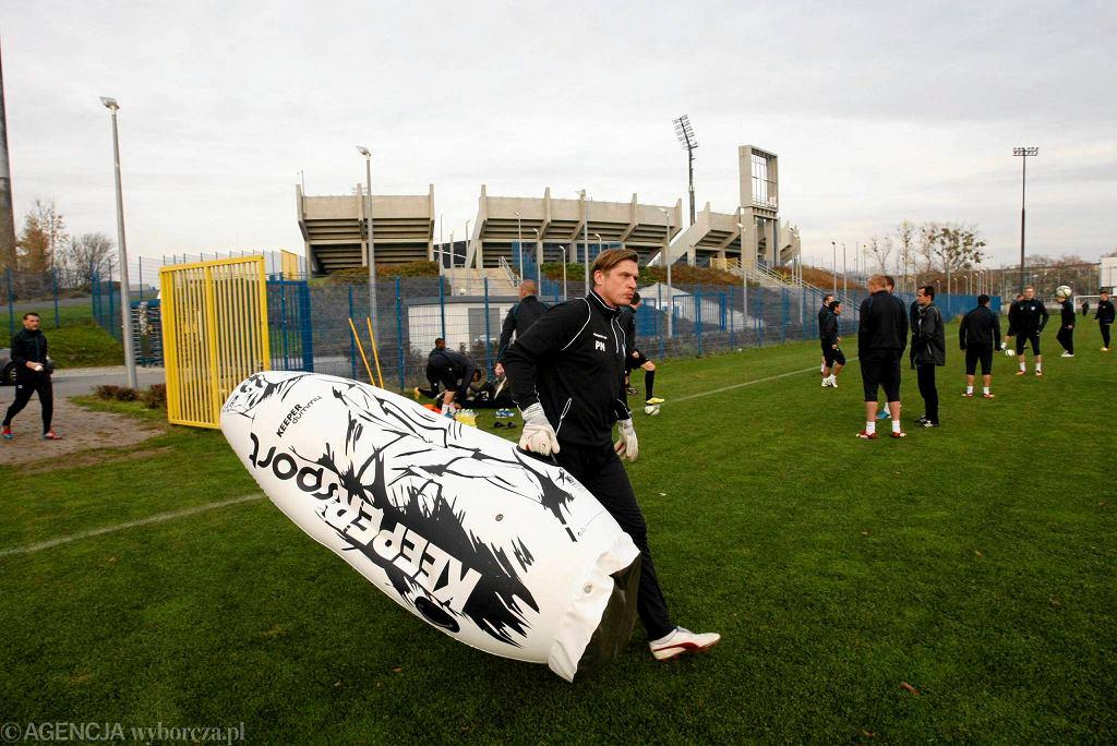 Piłkarze Zawiszy trenują przed meczem ze Śląskiem Wrocław