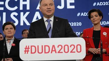 Wybory prezydenckie 2020. Sztab wyborczy Andrzeja Dudy