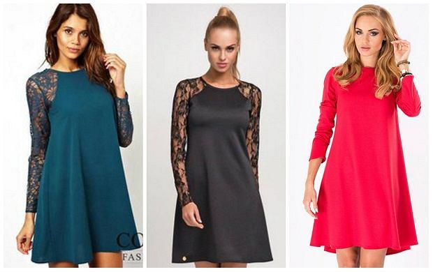 bcbf744b7a4855 Sukienki trapezowe - propozycje naszej stylistki