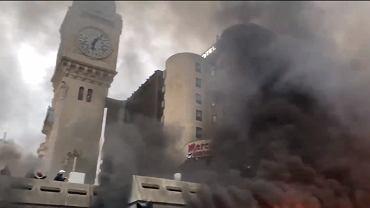 Pożar dworca Gare de Lyon w Paryżu