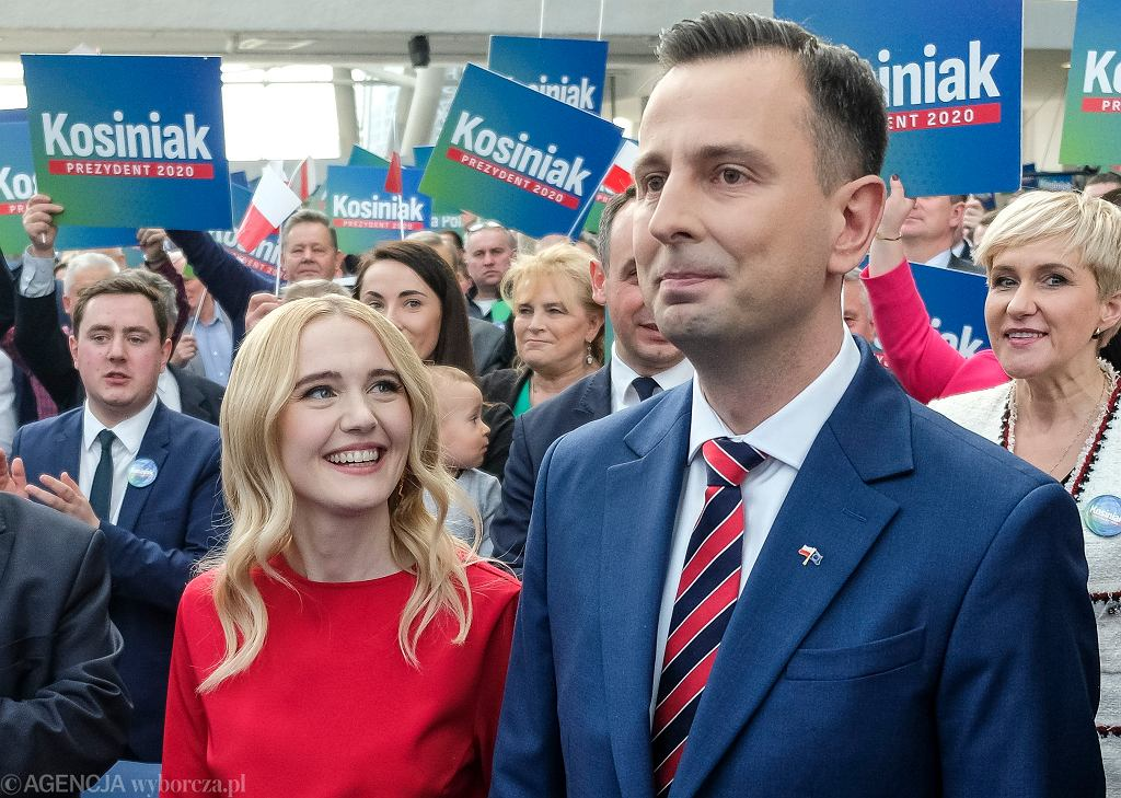 Paulina i Władysław Kosiniak-Kamyszowie