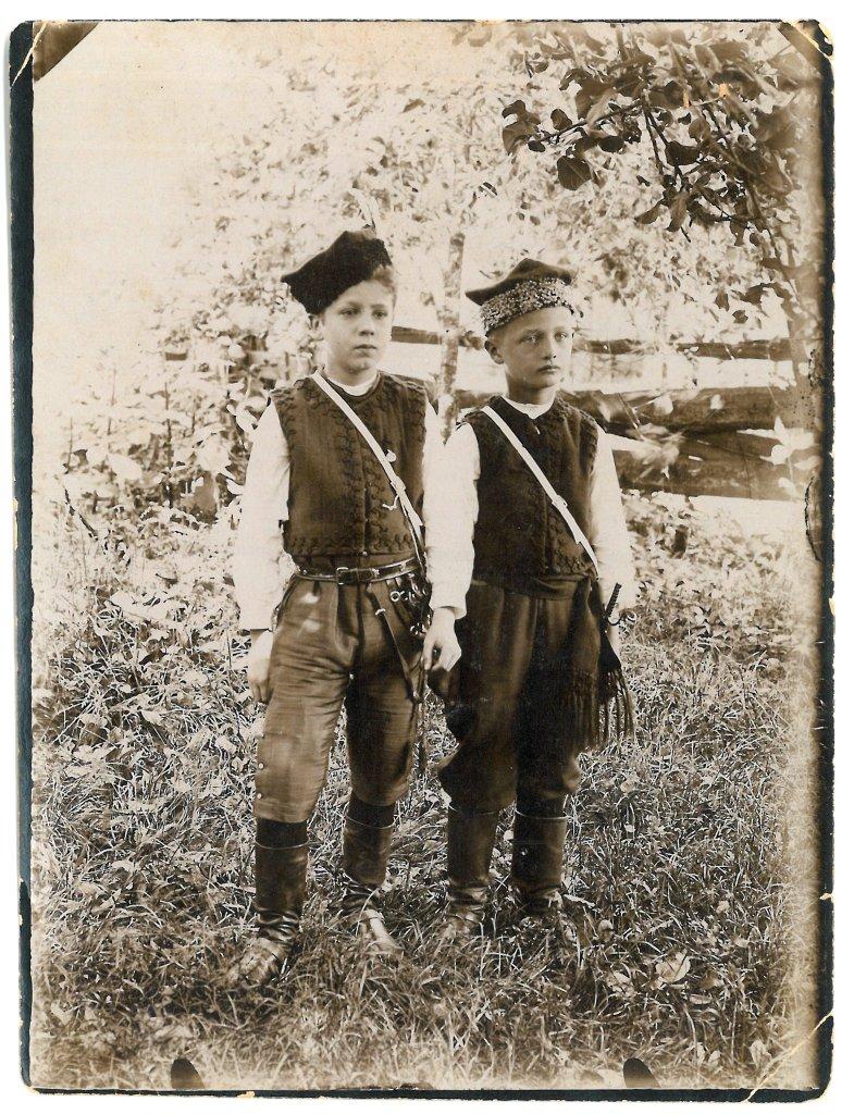 Zygmunt i Leszek Serafinowiczowie