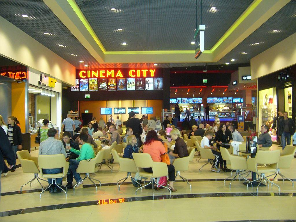Cinema City w Gemini Parku w Bielsku-Białej