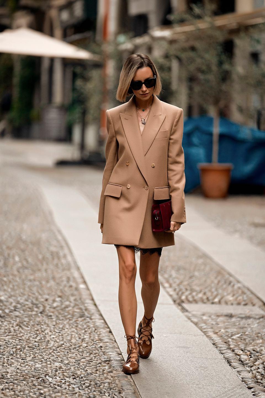 Elegancki płaszcz na wiosnę