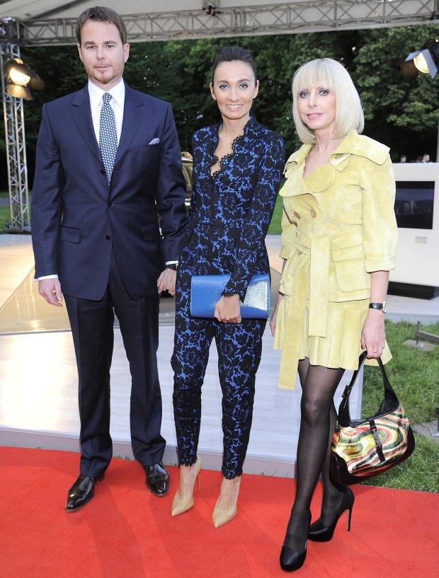 Jan Lubomirski, Dominika Kulczyk i Grażyna Kulczyk