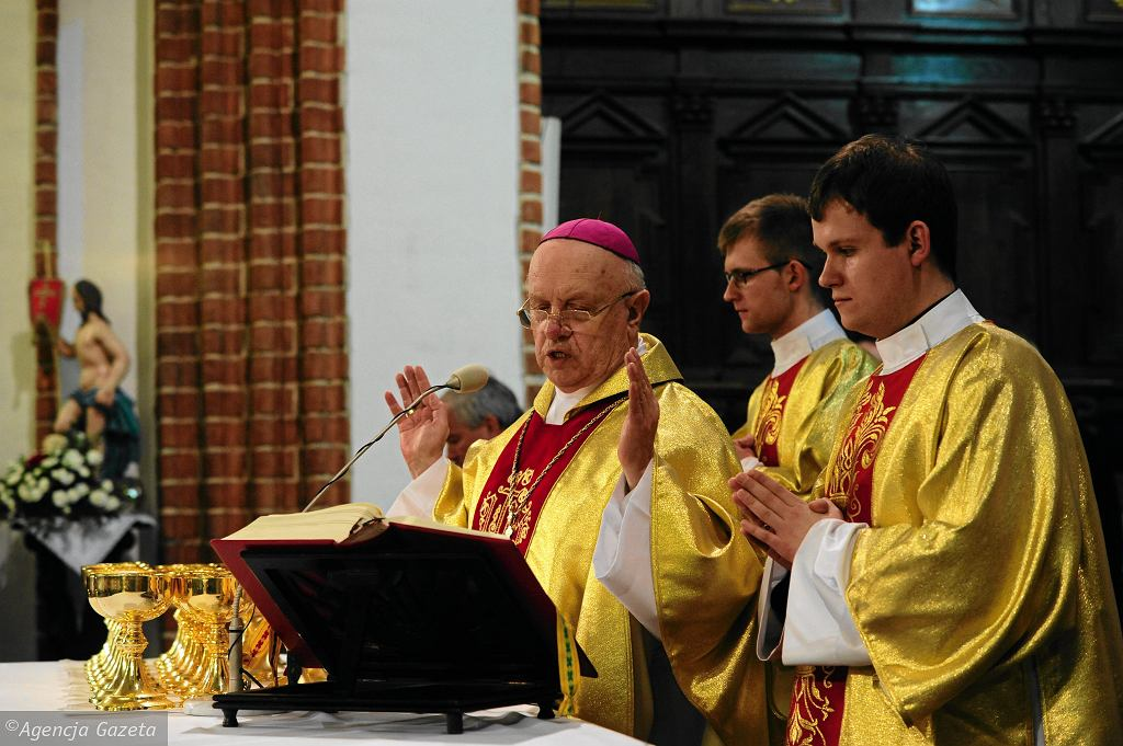 Biskup Józef Zawitkowski, 2013 r.