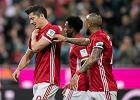 Bayern - Borussia 4:1. Lewandowski dogonił i przegonił Aubameyanga. Ale schodził trzymając się za bark, a już w środę mecz wiosny z Realem Madryt