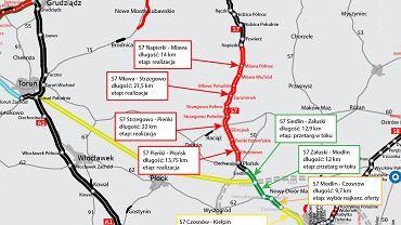 GDDKiA wybrała najkorzystniejszą ofertę na budowę kolejnego odcinka drogi ekspresowej S7 z Płońska do Czosnowa