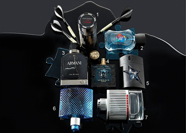 Męskie perfumy: Eros nocą