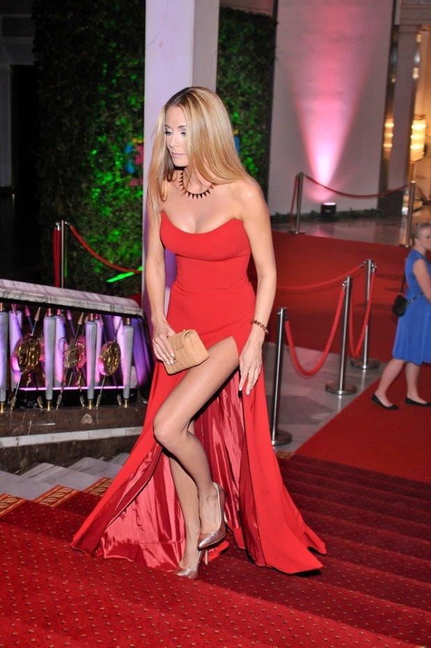 Małgorzata Rozenek na Balu fundacji TVN, wrzesień 2012.