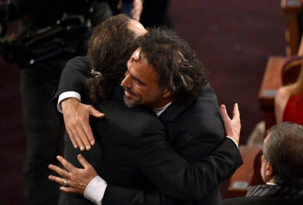 Emmanuel Lubezki i Alejandro Gonzalez Inarritu - obaj z Oscarami za