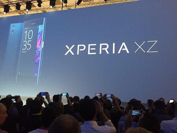 Prezentacja smartfona Sony Xperia XZ
