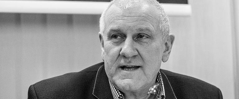Zmarł Jan Guz. Przez 15 lat był szefem OPZZ