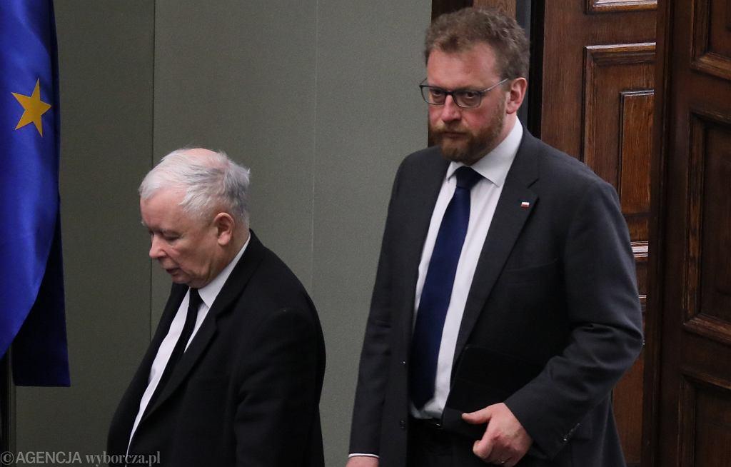 Jarosław Kaczyński, Łukasz Szumowski
