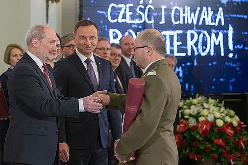 Generał Jarosław Kraszewski - mianowanie na generała