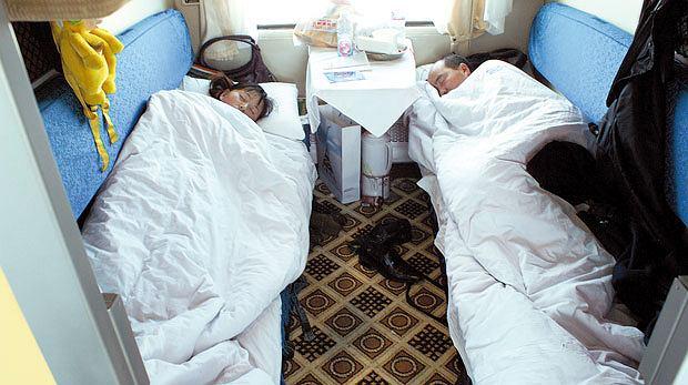 Podróż pociągiem z Pekinu do Tybetu, azja, podróże, Tak wygląda soft sleeper, czyli przedział z czterema miękkimi łóżkami