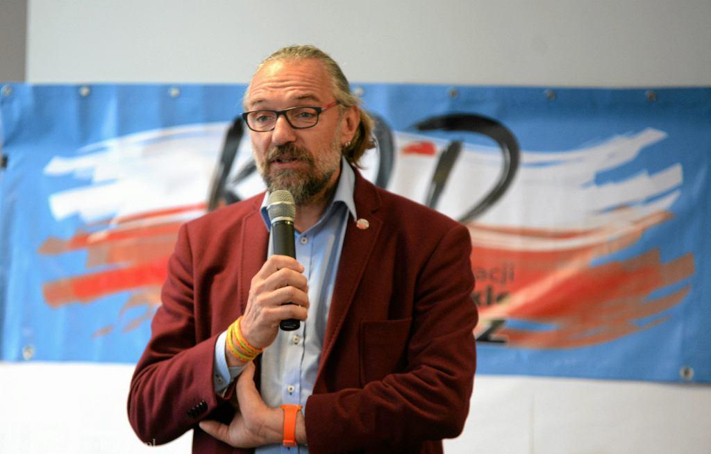 Mateusz Kijowski, lider KOD