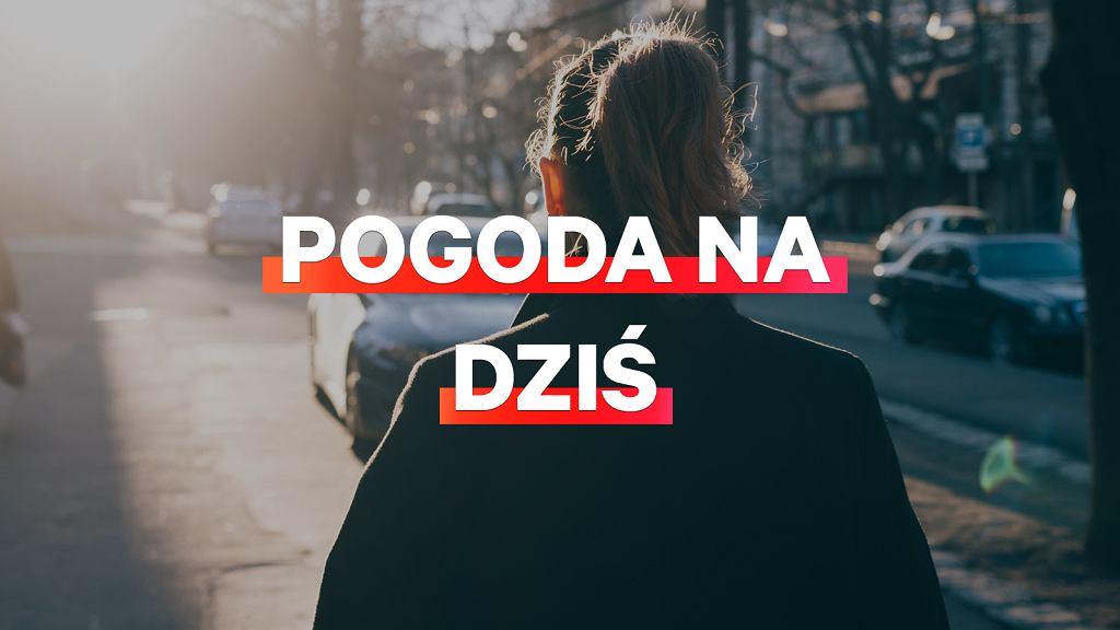 Pogoda na dziś - poniedziałek, 12 kwietnia. Pochmurnie, ale w większości Polski będzie ciepło