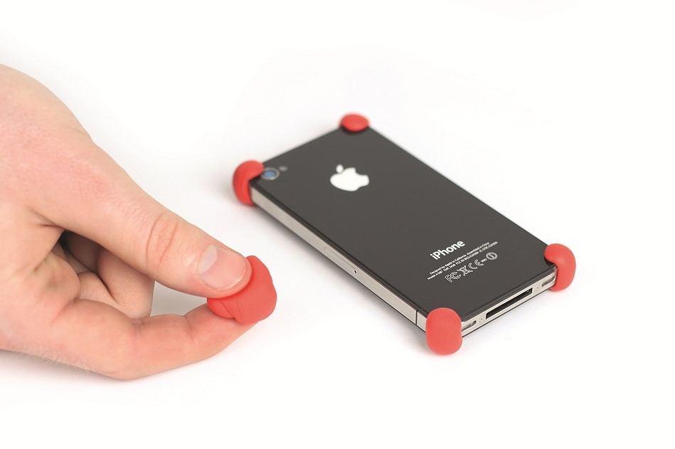 Z plasteliny Sugru można zrobić np. ochronę antywstrząsową dla smartfona