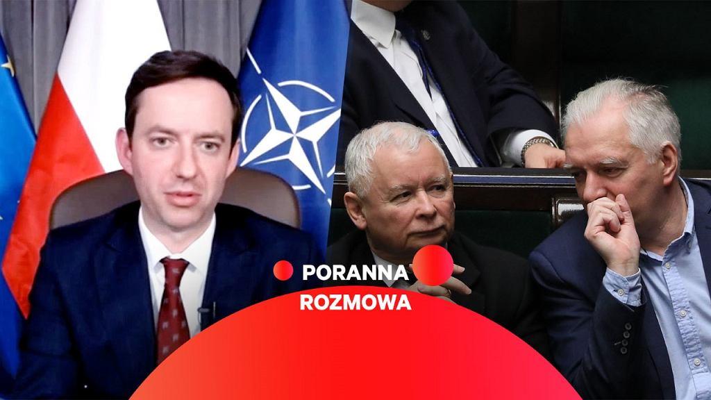 Marcin Ociepa w Porannej Rozmowie Gazeta.pl
