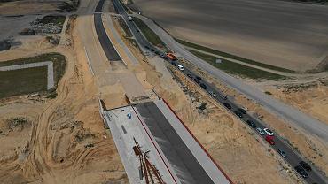 Budowa odcinka autostrady A1 pod Częstochową