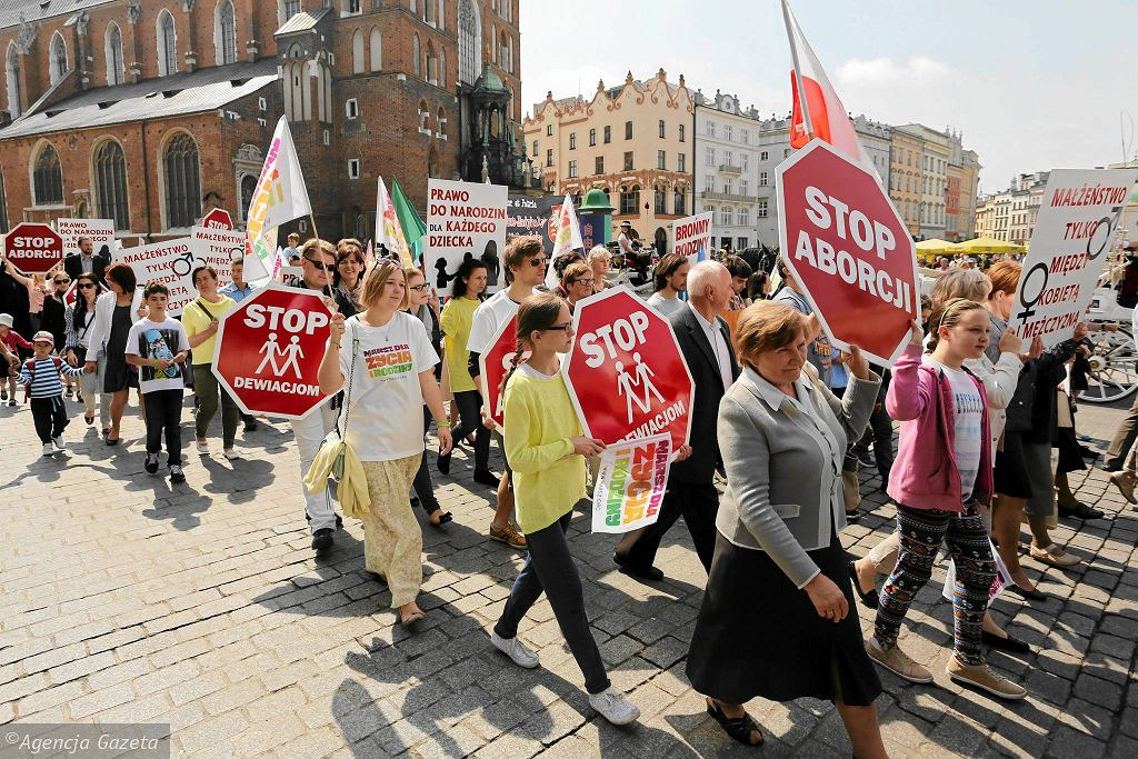 Marsz dla życia i rodziny - Kraków 2015