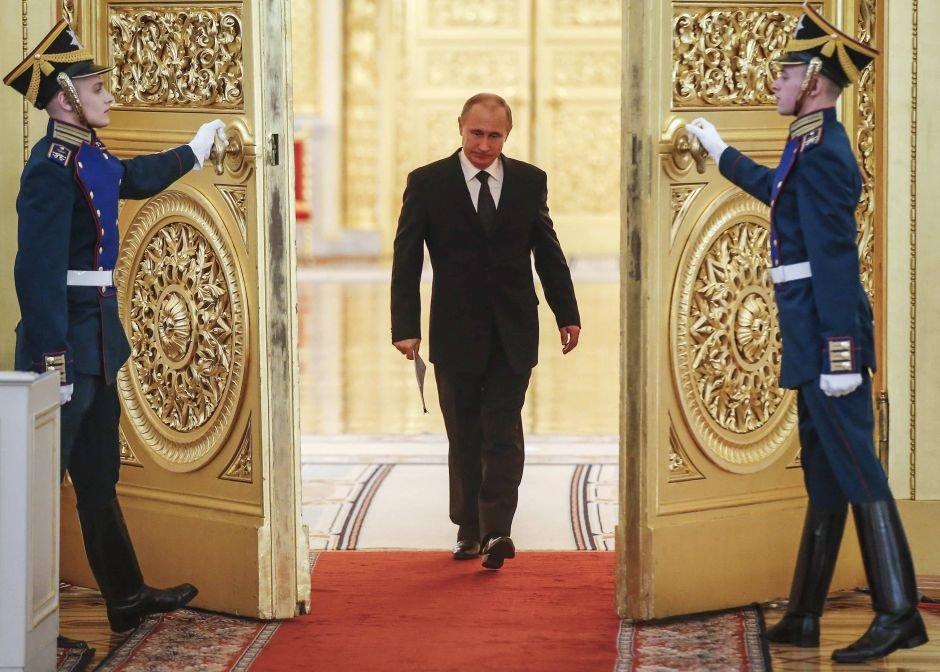 Władimir Putin na Kremlu