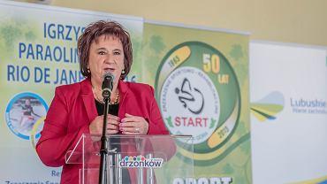 Danuta Tarnawska, prezes ZSR Start Zielona Góra
