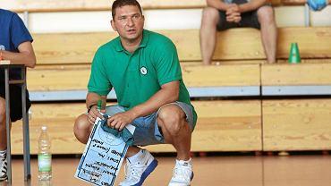 Trener Michał Spychała