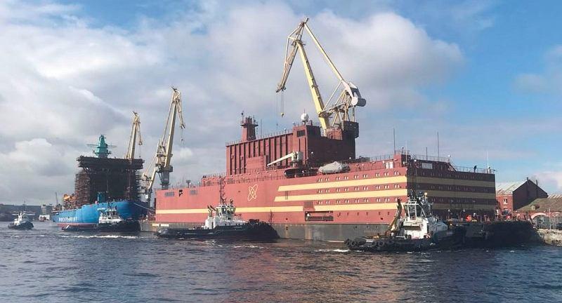 'Pływający Czarnobyl' wyruszy w rejs na północny wschód Rosji