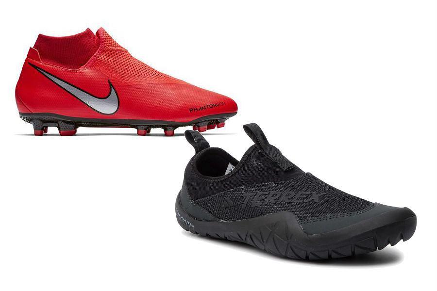 Buty sportowe męskie bez sznurówek