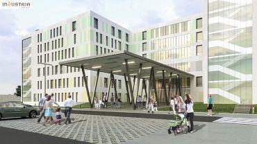 Szpital dziecięcy przy Lutyckiej - wizualizacje. Miasto musi dołożyć 50 mln zl.
