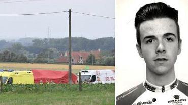 Nie żyje Niels de Vriendt, 20-letni belgijski kolarz