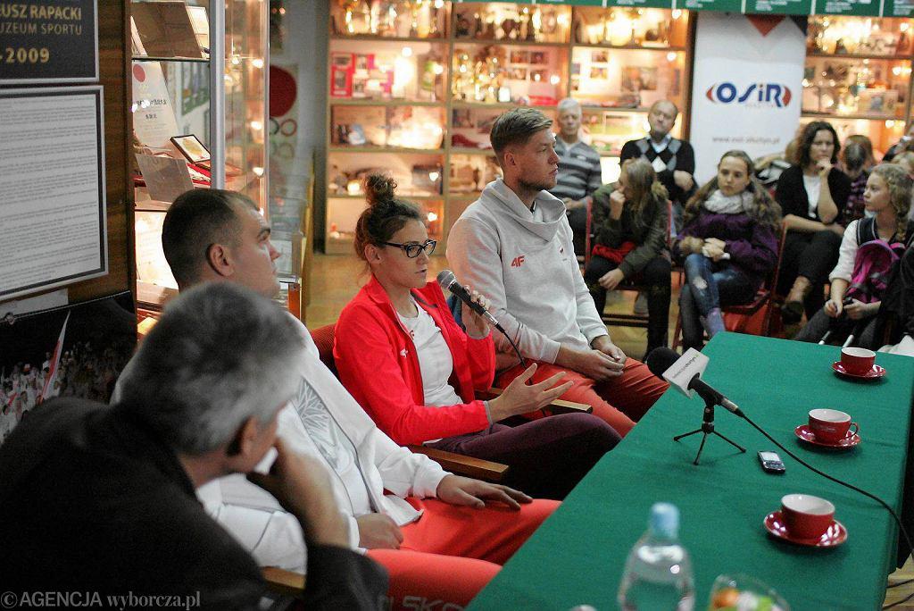 Spotkanie z olimpijczykami z Olsztyna w Muzeum Sportu