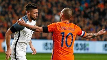 Olivier Giroud i Wesley Sneijder