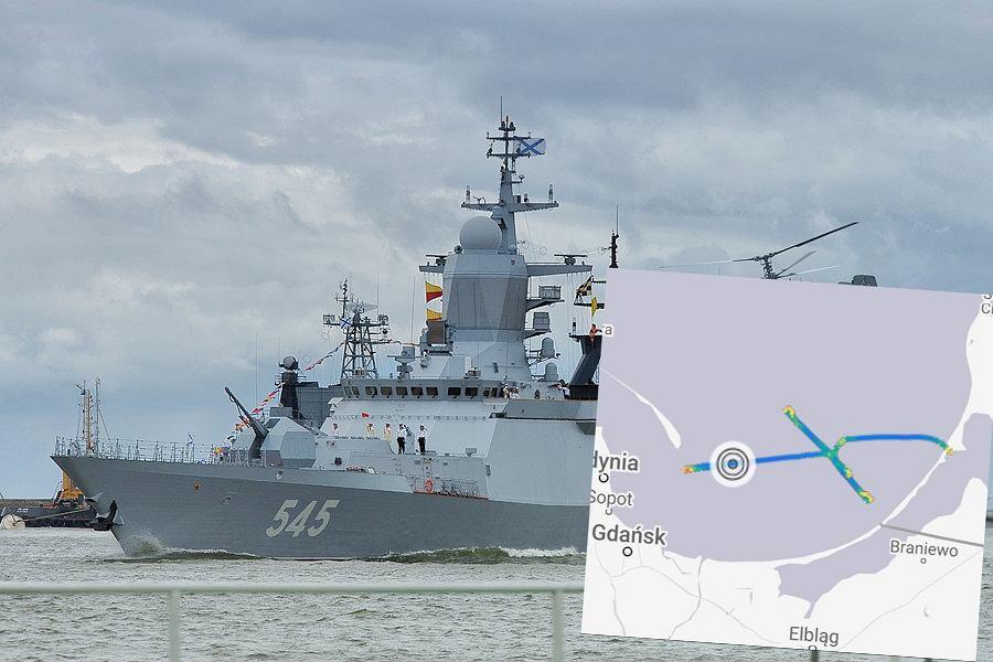 Rosyjski okręt na polskich wodach terytorialnych? Wojsko zaprzecza