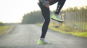 Podbiegi - trening biegacza