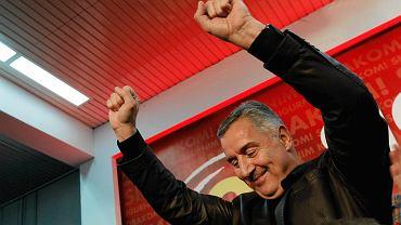 Premier Czarnogóry Milo Djukanovic